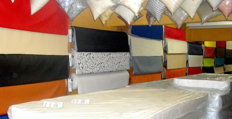 materiales para la decoracion de telas y textiles
